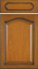 Fronty drewniane ramowo-płycinowe