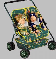 Wózek dla lalek bliźniak  KASIA