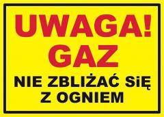 Znaki gazownictwo firmy