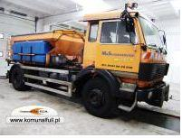 Municipal automobiles for the sprinkling the roads