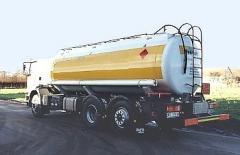 Autocysterny do przewozu paliw, LPG, wody, chemikaliów, artykułów spożywczych