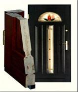 Drzwi wewnetrzne czarne