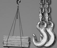 Łańcuchy zawiesiowe o udźwigu od 1,6t do 63t w