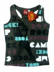 Koszulka na ramiączkach - bokserka CAMP ROCK The
