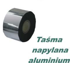 Taśma polipropylenowa napylana aluminium OAlJA 4