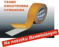 Taśma dwustronnie klejąca do wykładzin materiałowa wzmacniana BA
