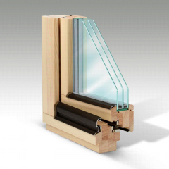 Okna drewniane pasywne