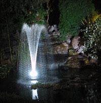 Fontanna pływająca z oświetleniem diodowym PJ