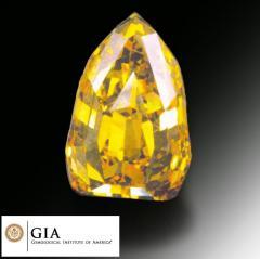 Diamenty kolorowe, bizuteria diamentowa