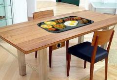 Stół z grillem