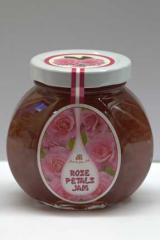 Przetwory z płatkór różowych