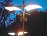 Słupy oświetleniowe