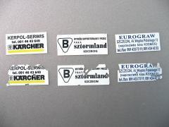Plomby, stickery