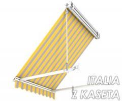Markizy balkonowe Italia kasetowa