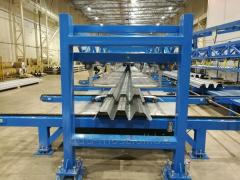 LINE FOR PROFILING TRAPEZOIDAL PROFILES T-153