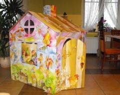 Domek tekturowy dla dzieci