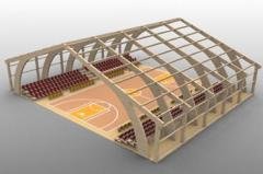 Konstrukcja z drewna klejonego