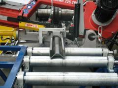 Cadeias de produção de perfil de aço