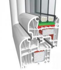 Okna PCV ideal 6000 Passiv-Haus