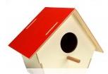 Domek dla ptaków z otworkiem