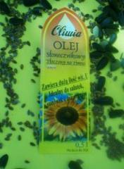 Olej słonecznikowy tłoczony na zimno