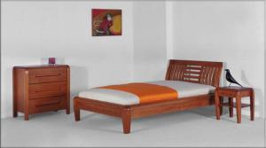 Łóżka drewniane Villa