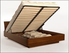 Łóżka z pojemnikiem na pościel Grande Mare 160x200