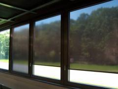 Roletki przeciwsłoneczne z folii refleksyjnej