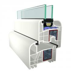 Okna PCV S 3000 5-komorowy prosty