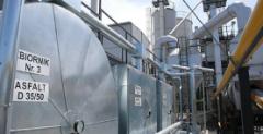 Silosy i zbiorniki metalowe do magazynowania bitumu