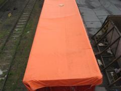 Fabrics tarpaulin wagon