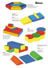 Mats for sport children's rooms