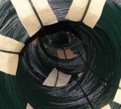 Druty stalowe powlekane PVC
