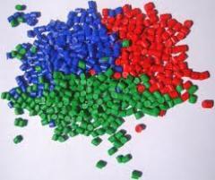 Regranulat kolorowy