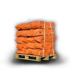 Drewno – w workach 50×70 na palecie jednorazowej