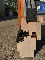 Okna drewniane IV 68 otwierane do wewnątrz