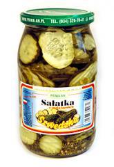 Sałatka szwedzka o smaku łagodnym
