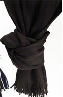 Szalik czarny