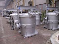 Kadzie do transportu ciekłego metalu