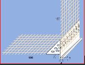 Profil narożnikowy PVC z okapnikiem