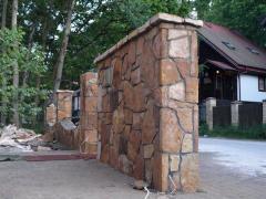 Kamień do ogrodzeń
