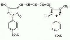 BIS-[(1-p-SULFOPHENYL)-3-METHYL-PIRAZOLONE-5]--PENTAMETHIN POTASIUM SALT