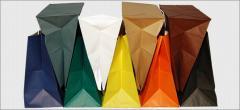 Nelikulmainpohjaiset paperipaketit