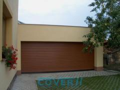 Brama zwijana garażowa BGR
