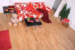 Dąb czerwony family BARLINEK seria LIFE (3 lamele) - lakier UV