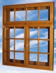 Okna drewniane jendoramowe system Йetroline