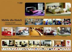 Furniture for hotels