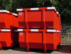 Containers inserted