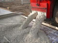 Control console of concrete mixer