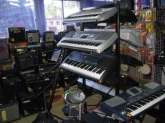 Instrumenty muzyczne - Klawiszowe